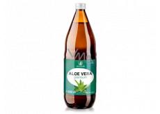 Allnature Aloe Vera Premium pure juice in premium quality helps detoxify the body, food supplement 1000 ml