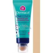 Dermacol Acnecover make-up & Corrector make-up a korektor 03 odstín 30 ml + 3 g