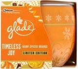 Glade by Brise Warm Spiced Orange vonná svíčka ve skle doba hoření až 30 hodin 120 g