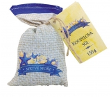 Bohemia Gifts Dead Sea Dead Sea, Seaweed and salt extract, bath salt in a linen bag 150 g