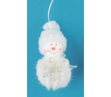 Snowman for hanging 9 cm