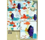 Nekupto Christmas wrapping paper for children Dory 0,7 x 2 m 034 BLI