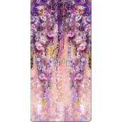 Albi Magnetic Tab - Flower wallpaper 8,7 cm × 4,4 cm