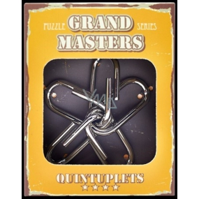 Albi Grand Masters metal puzzle - Quintuplets 4/4
