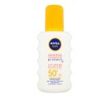 Nivea Sun OF 50+ Sensitive waterproof sunscreen spray 200 ml