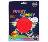 Rubber bouncy foam Airfoam - red