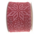 Ditipo Nordic Ribbon red white flakes 2 mx 40 mm