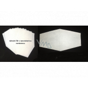 Set of spare filters with nanofiber membrane 10 pieces