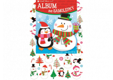 Album for stickers hologram Christmas 16 x 29 cm 50 pieces