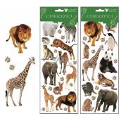Room Decor Stickers Zoo 30 x 12 cm random selection