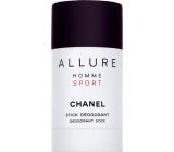 Chanel Allure Homme Sport deodorant stick for men 75 ml