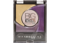 Maybelline Big Eyes oční stíny 05 Luminous Purple 5 g