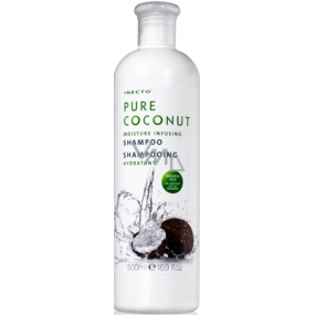 Inecto Pure Coconut hair shampoo with pure coconut oil 500 ml