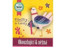 Nekupto Miss Cool Pilníčky na nehty Slepička Okouzlující & něžná 6 kusů 1 balení, 008