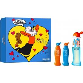 Moschino I Love Love Eau de Toilette for Women 30 ml + Body Lotion 25 ml + Shower Gel 25 ml, Gift Set