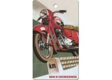 Bohemia Gifts & Cosmetics Aromatic fragrance card Motorbike 250 11 x 6.3 cm