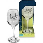 Albi Můj Bar Wine glass Today I deserve it 270 ml