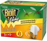 Biolit Aroma Electric vaporizer with the scent of orange against mosquitoes 45 nights machine + refill 27 ml