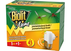 Biolit Aroma Electric mosquito vaporizer with orange scent 45 nights movement + 27 ml refill