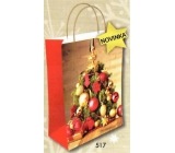 Nekupto Christmas gift kraft bag 517 L-WKL