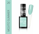 Revers Solar Gel Nail Polish 20 Mojito Summer 12 ml