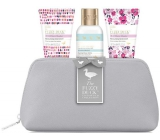 Baylis & Harding Wild Bell and Flower Meadow Shower Cream 100 ml + Body Lotion 50 ml + Hand Cream 50 ml + Toiletry Bag, Cosmetic Set