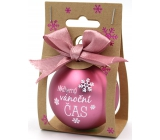 Nekupto Christmas balls Beautiful Christmas time 6 cm