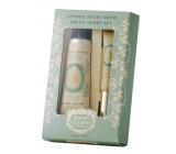 Panier des Sens Almond hand cream 30 ml + nail oil and cuticle 7.5 ml cosmetic set