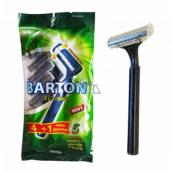 Bartoň Disposable razor 2-blade-lubricating tape 4 + 1 pieces TG708N