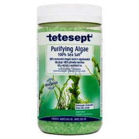 Tetesept Seaweed 100% Sea salt for natural cleansing and dehydration 900 g