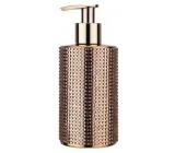 Vivian Gray Diamond Gold luxury liquid soap with a 250 ml dispenser