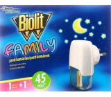 Biolit Family Electric mosquito vaporizer 27 ml