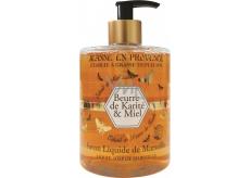 Jeanne en Provence Beurre de Karité & Miel Shea Butter and Honey Liquid Hand Soap with Delicate Fragrance 500 ml