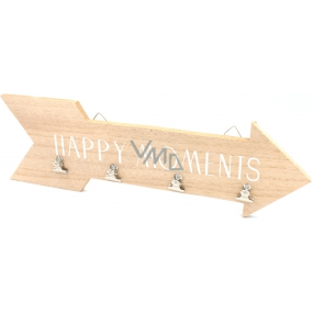 Nekupto Home Decor Wooden decorative arrow Happy Moments 40 cm