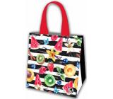 Laminated fruit shopping bag 34 x 34 x 22 cm