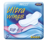 Micci Ultra Wings Top Dry intimate inserts with wings 9 pieces