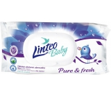 Linteo Baby Pure & Fresh wet napkins for children 80 pieces