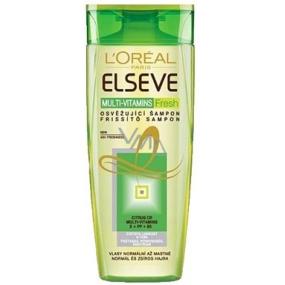 Loreal Paris Elseve Multi-Vitamins Fresh refreshing shampoo 250 ml