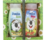 Bohemia Gifts & Cosmetics Kids Sheep Shark Shower Gel 250 ml + Sheep Shape Hair Shampoo 250 ml, cosmetic set