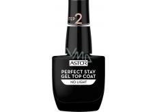 Astor Perfect Stay Gel Top Coat topcoat 001 Transparent 12 ml
