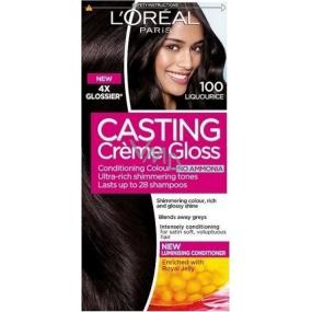 Loreal Paris Casting Creme Gloss hair color 100 dark black