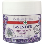 Bohemia Gifts & Cosmetics Lavender regenerative ointment with lavender oil 120 ml