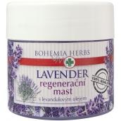 Bohemia Gifts & Cosmetics Lavender regenerační mast s levandulovým olejem 120 ml