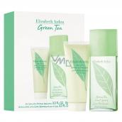 Elizabeth Arden Green Tea Perfumed Water for Women 100ml + Body Milk100ml Cosmetic Set