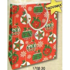 Nekupto Gift paper bag 23 x 18 x 10 cm Christmas 1708 30 WBM