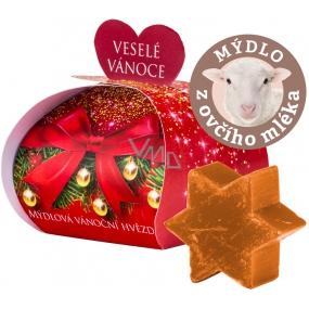 My Christmas star cinnamon gift soap from sheep's milk 13 g