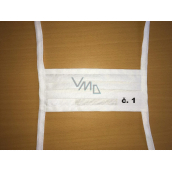 Veil folded 100% cotton