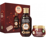 Garnier Botanic Therapy Ginger Recovery shampoo for dull and fine hair 250 ml + revitalizing mask 300 ml, cosmetic set