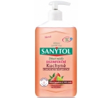 Sanytol Pink Grapefruit & Fresh Lemon Disinfectant Hand Soap for Kitchen 250ml with Dispenser