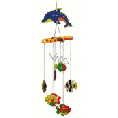 Wooden rocking puzzle 02 Fish for hanging 20 x 15 cm